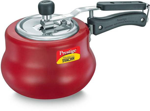 Prestige Nakshatra Duo Plus Svachh Handi Pressure Cooker 3 L Induction Bottom Pressure Cooker