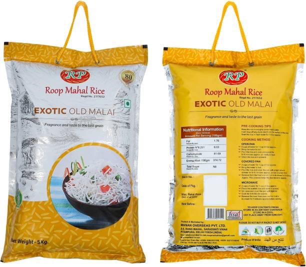 Roop Mahal RIce Exotic Old Malai Basmati Rice (Long Grain, Raw)