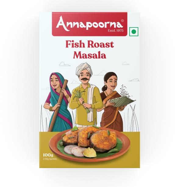 Annapoorna Fish Roast Masala 100g Carton