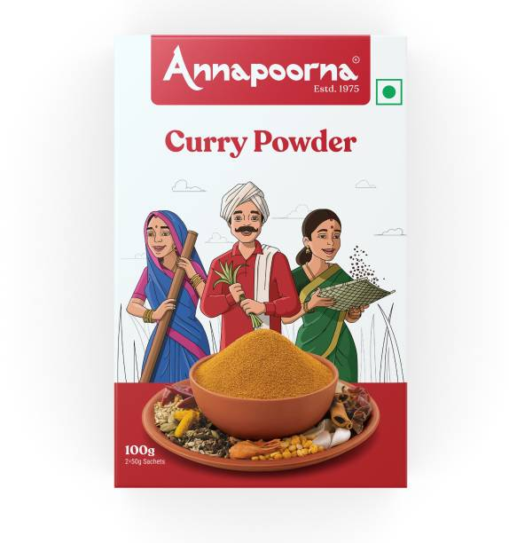Annapoorna Curry Powder 100g Carton