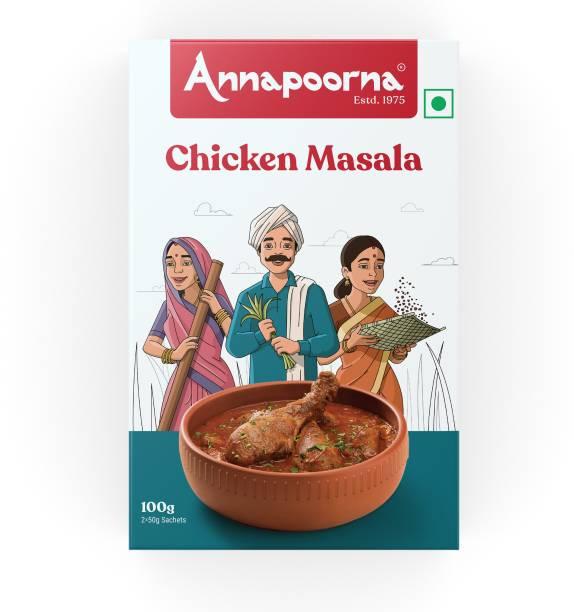 Annapoorna Chicken Masala 100g Carton