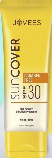 JOVEES Sun Cover SPF 30 (Non-Greasy UVA/UVB Protection) - SPF 30