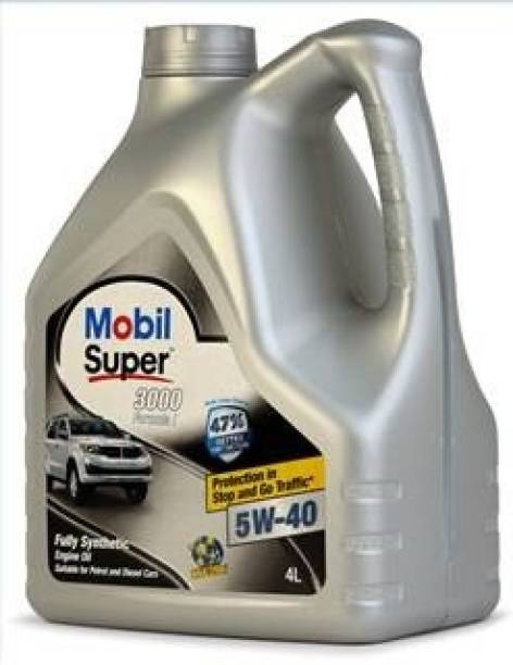 MOBIL Super 3000 Formula I 5W-40 Fully Synthetic Full-Synthetic Engine Oil