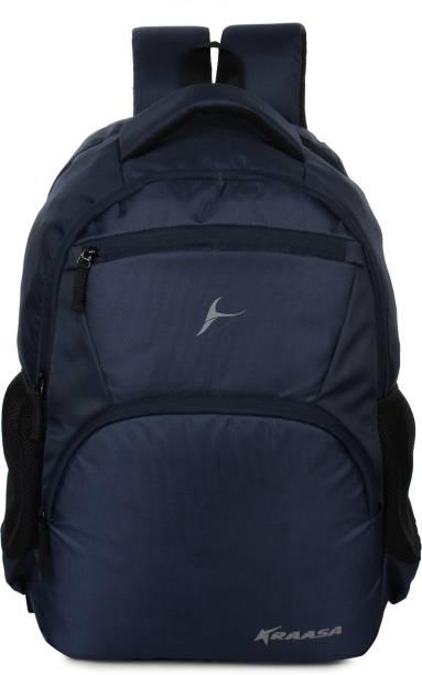 Kraasa Navy Zipper 35 L Backpack