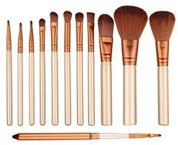 Bestop Full Face Makeup Set for Foundation Blending Powder Concealers Eye Travel Make Up Brush Kits