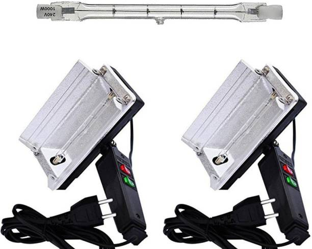 Priyam 2 prime quality halogen lights with 1000 watt halogen tube 2 lx Camera LED Light