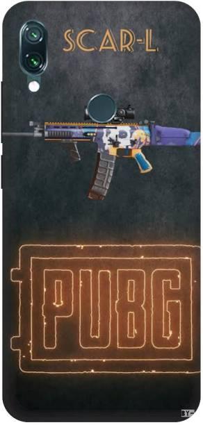 Snapcrowd Back Cover for Mi Redmi Note 7s Pubg Scra-l Gun back cover