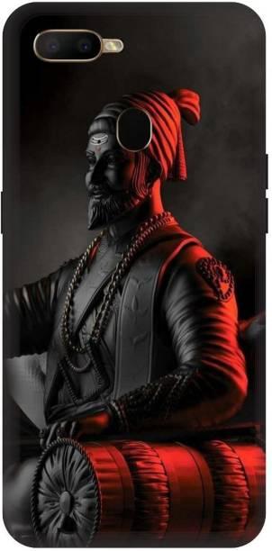 Bluvver Back Cover for Oppo A5s/CPH1909 Printed Chatrapati Shivaji Maharaj Back Cover