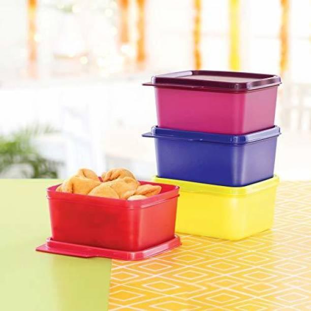 TUPPERWARE Square Refrigerator Container Keep Tab  - 500 ml Plastic Fridge Container