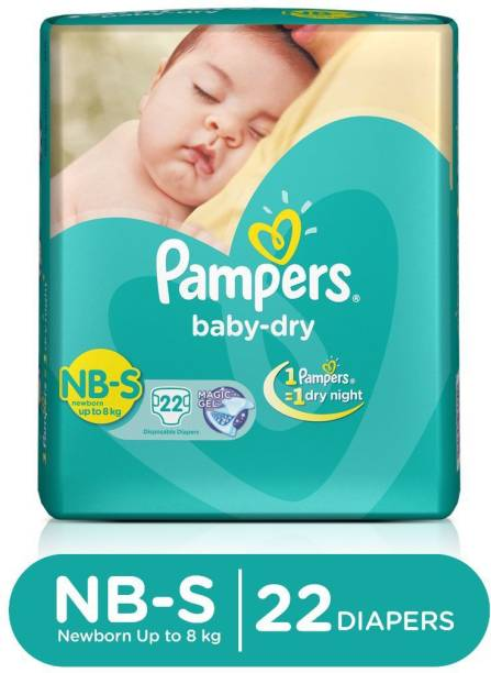 Pampers Taped Diapers - New Born
