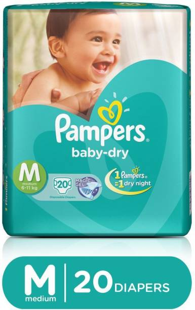 Pampers Taped Diapers - M
