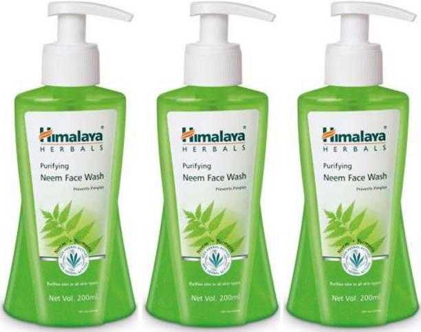 HIMALAYA Purifying Neem Since Face Wash