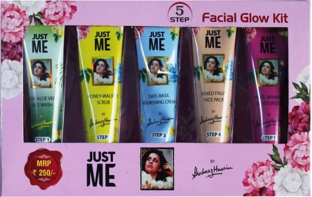 Shahnaz Husain Just Me 5 Step facial Glow Kit