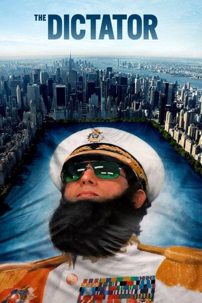 The Dictator (2012) dual audio Hindi & English clear HD print clear voice it's burn DATA DVD play only in computer or laptop not in DVD or CD player it's not original without poster