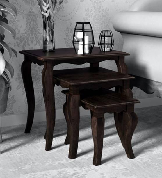 DriftingWood Solid Wood Nesting Table