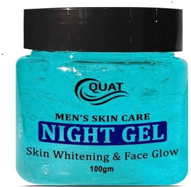 QUAT Men's Skin Care Night Gel, Skin Whitening & Face Glow (100 g)