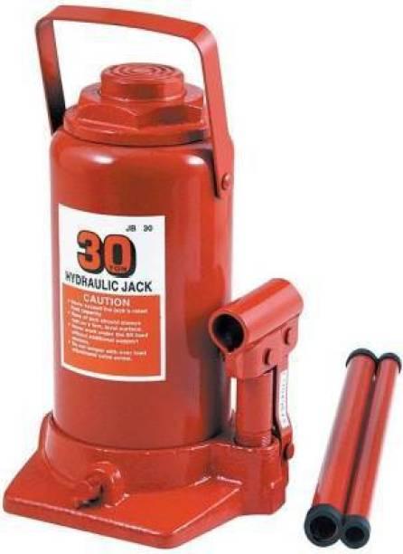 TAAJ 30 Ton Capacity Big Hydraulic Bottle (30000 kg) Vehicle Jack Stand