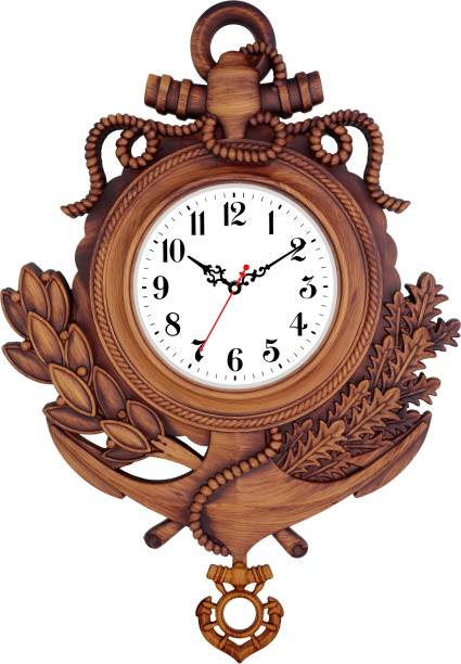 Art Amori Analog 38 cm X 45 cm Wall Clock