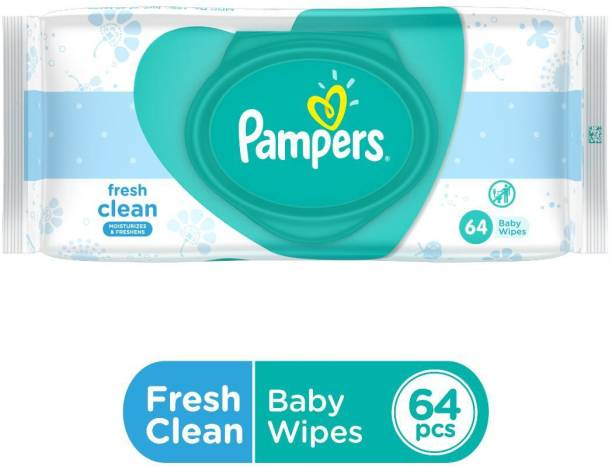Pampers Count Fresh Clean Dermatologically Tested Safe for Baby's Skin