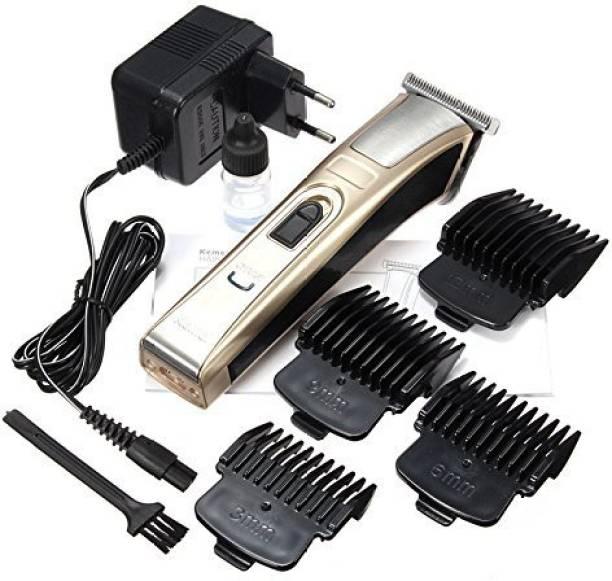 Kemei Rechargeable Professional Hair Trimmer for Men  Runtime: 121 min Trimmer for Men