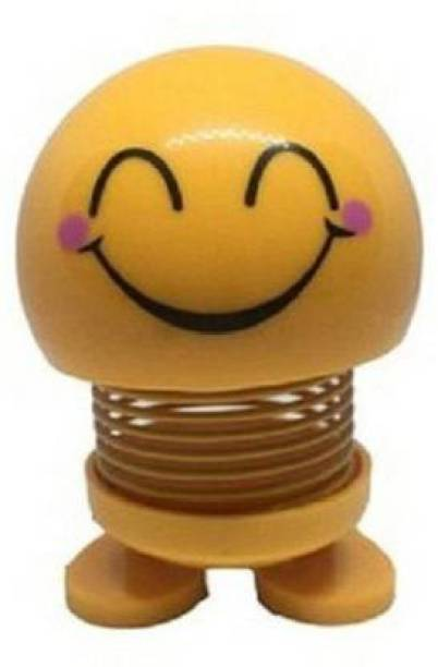 DEE GEE Car emoticon pack doll creative funny spring (Yellow)