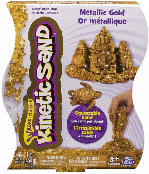 Kinetic Sand Mettalic Gold