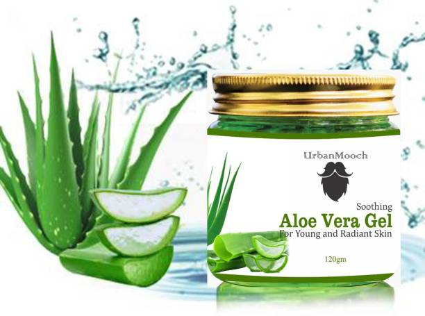 UrbanMooch 100% Pure Aloe Vera Gel For Young and Radiant Skin and Hair-