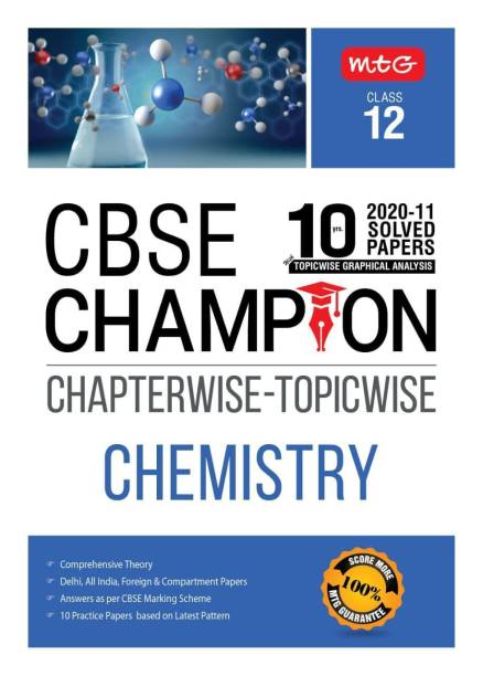 10 Years Cbse Champion Chapterwise-Topicwise - Chemistry-Class- 12