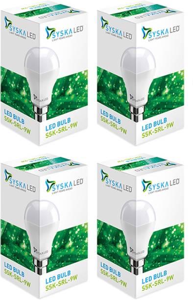 Syska 9 W Standard B22 LED Bulb
