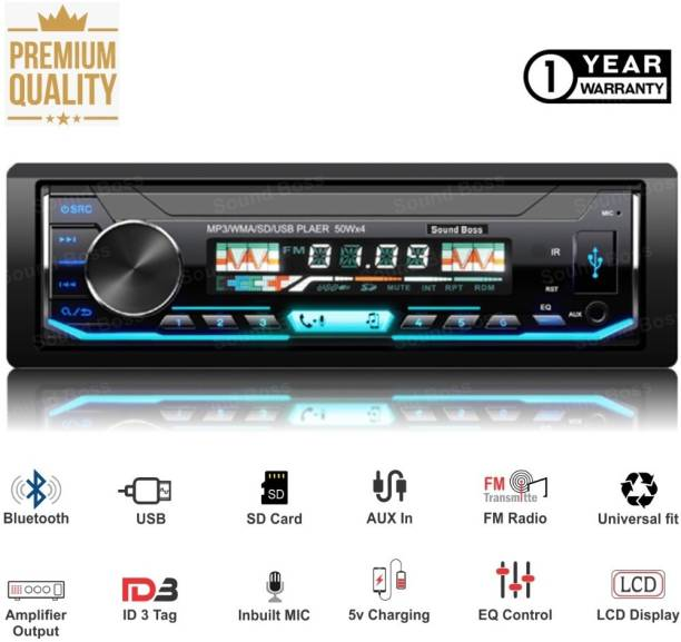 Sound Boss PREMIUM 3990BT USB/FM/SD/AUX/Bluetooth Wireless with Phone Caller Id Receiver Car Stereo