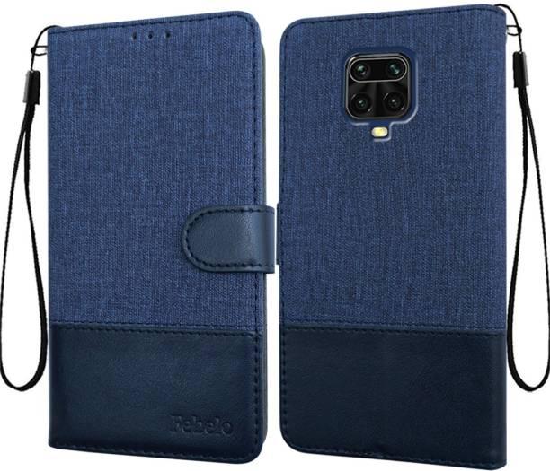 Febelo Flip Cover for Poco M2 Pro, Mi Redmi Note 9 Pro Max