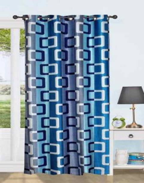 AMIGOS CREATION 152 cm (5 ft) Polyester Window Curtain Single Curtain