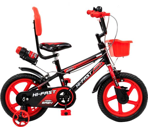 Hi-Fast Kids Bicycles For 2 Years to 5 Years Semi Assembled  14 T BMX Cycle