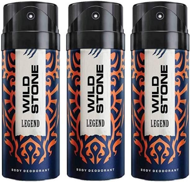 Wild Stone (LEGEND) - 150ml - LEGE-03 Deodorant Spray  -  For Men