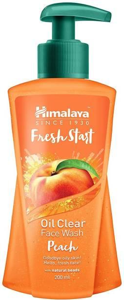 HIMALAYA New Fresh-Start Oil Clear Peach Face Wash
