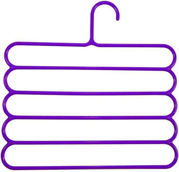 rugotaa Heavy quality 5 layer multipurpose wardrobe storage Hanger Plastic Hanger