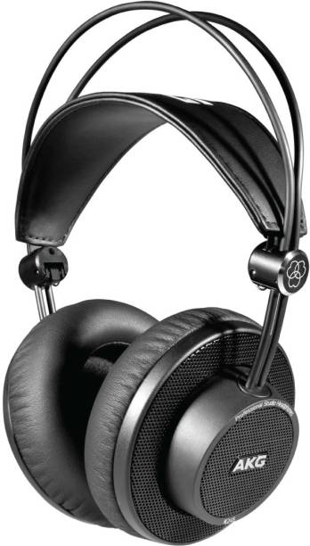 AKG K245 Open-back, Foldable Wired without Mic Headset