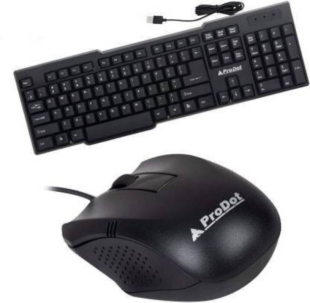 PRODOT kb-207s USB Keyboard with Mouse Wired USB Laptop Keyboard