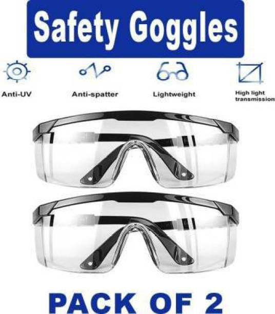Ships from FL PACK OF 10 Protective Safety Goggles Safe Lab Glasses Eyewear