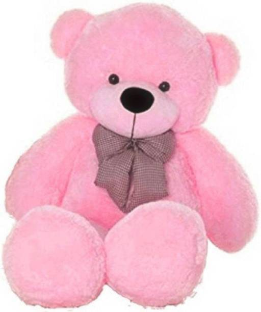 Lovebug Cute Bootsy Pink 90 Cm 3 feet Huggable And Loveable For Someone Special Teddy Bear  - 90 cm