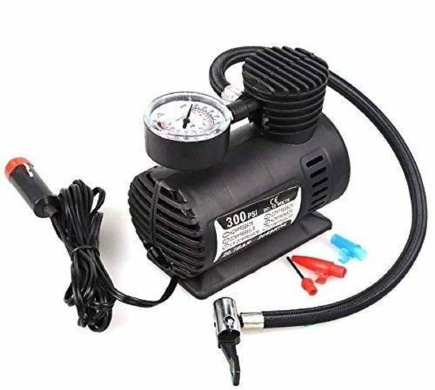 TRENTECH 300 psi Tyre Air Pump for Car & Bike