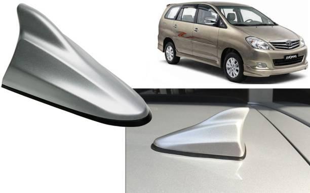 Auto Kite Silver Shark Fin Replacement Signal (AM/FM)Receiver Antenna For Innova 2005-12 Hidden Vehicle Antenna