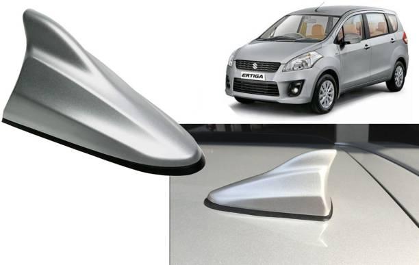 Auto Kite Silver Shark Fin Replacement Signal (AM/FM)Receiver Antenna For Ertiga Type-1 Hidden Vehicle Antenna
