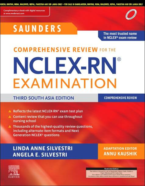 Saunders Comprehensive Review for the NCLEX-RN® Examination, Third South Asia Edition