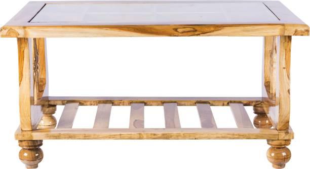 AAYAT FURNISHINGS Solid Wood Coffee Table