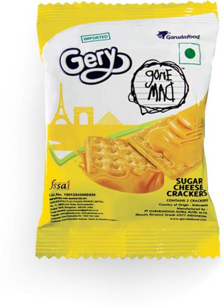 Gone Mad Cheese crackers (Pack of 80)