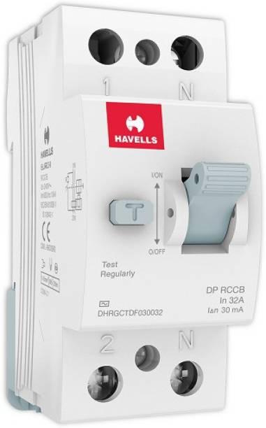 HAVELLS DHRGCTDF030032 RCCB 'AC' Type DP DHRGCTDF030032-Pk1 MCB