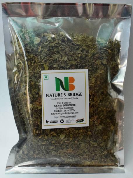 Nature's Bridge Kasuri Methi/ Dry Fenugreek Leaves/ Organic Kasoori Methi/ Nagaur's Kasuri Methi - (200 gm)