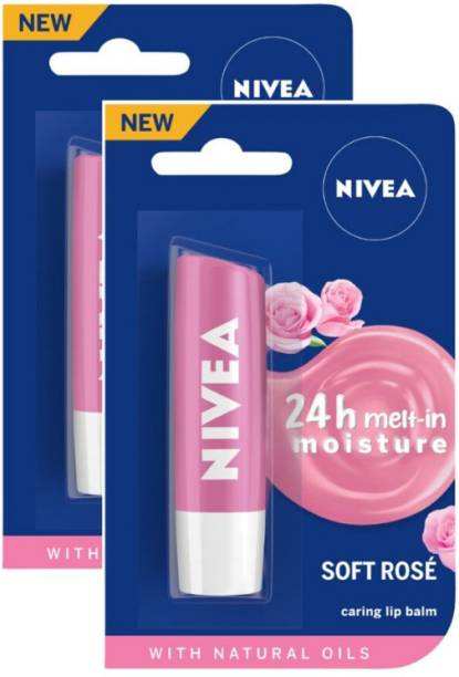 NIVEA Soft Rose Lip Care Balm Rose