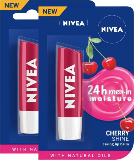 NIVEA Cherry Fruity Shine Lip Balm Cherry